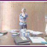 Julia Hall speaking to Lyon's Club of Kauai