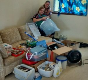 Photo of Karin and her Consumer and the household items