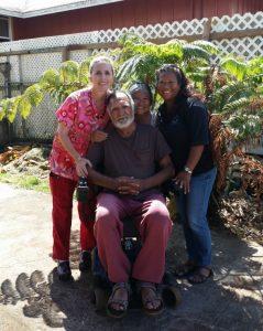 Photo of Gary, Valerie, Bernie, and Lani