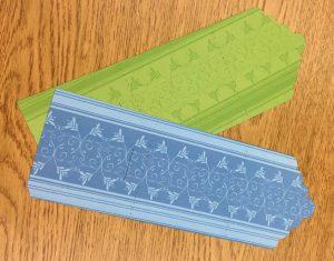 Photo of sticky notepad jacket sample