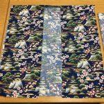 Photo of happi coat fabric cutout