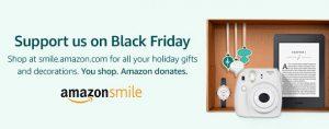 Photo of Amazon Smile Black Friday Advertisement