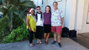 Photo of Lani, Sam, Kathleen, and Brian