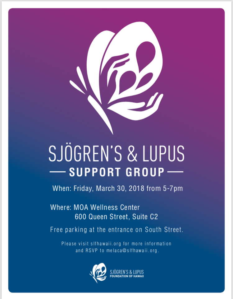 Sjögren's and Lupus Foundation of Hawaii Support Group