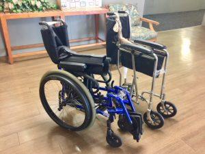 Photo of wheelchairs
