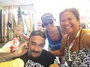 Victor with Lani and woman
