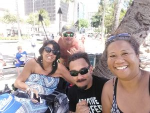 Lani, Victor, and friends