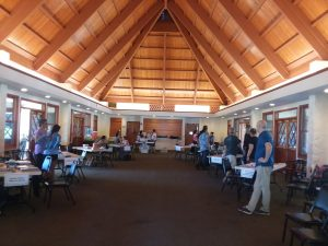 Photo of Lahaina Strong resource tables