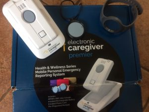 Photo of the Electronic Caregiver unit