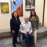 Photo of Roxanne and Lani with APRIL Executive Director, Billy Altom