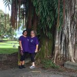 Photo of Lani and Emily at Hilo White Cane Day