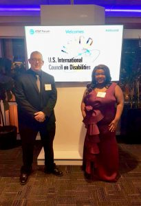 Photo of Leelynn and Mark at USICD Gala