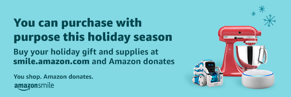 Photo of Amazon Smile Holiday banner