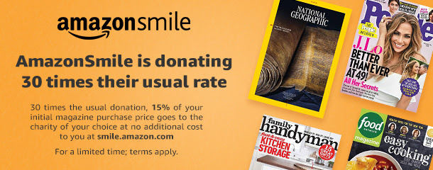 Photo of Amazon Smile banner