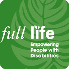 Full Life: Empowering People with Disabilities logo