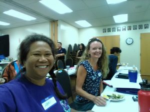 Maui Food Bank Education & Training on 6/3/ 19 - with Lani K. and Kathleen